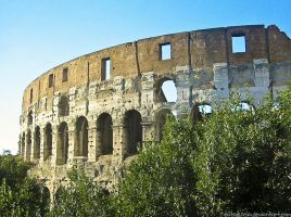 Colosseum, Rome by sataikasia
