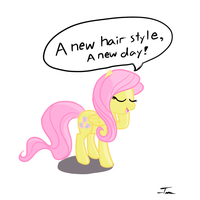 A New Hairstyle, a New Day by TanMansManTan