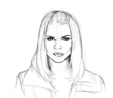 Rose Tyler- Sketch by Lamorien