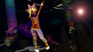 MMD Pharaoh Atemu by GumiCandy