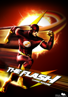 The Flash - Film Poster by Mesmeretics