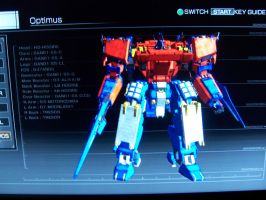 Armored core optimus by yago174