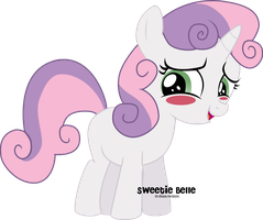 Little Sweetie Belle by oOBrushstrokeOo