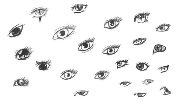 Eye Practice by LuciDeVille