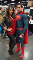 Wonder Woman and Superman by DevinShadowV