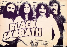 Band Poster: Black Sabbath by elcrazy