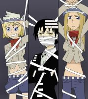 Soul Eater-DTK, Liz, and Patty by Awesome-Anime-Lover