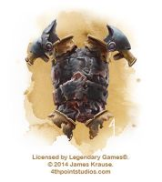 Breastplate for Legendary Games by JamesJKrause
