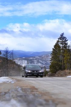 Civic SI in the Rocky Mountains by Dan52T