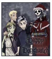 Happy Hogswatch by Bilious