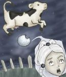 The cow jumped over the moon by DreamCatcher-amm