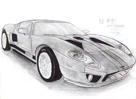 Julie's Ford GT Exotic by toyonda