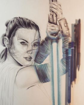 Rey WIP 2 by ChrisStoner