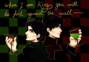 Tom Riddle + Moridin by shorelle
