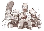 Simpsons Sketch :P by Craig-Stannard