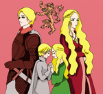Lannisters siblings by SenninArtistModo