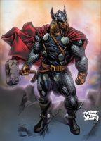 Thor - Marvel by AdrianoMediano