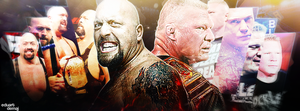 WWE - Facebook Cover by Eduart03