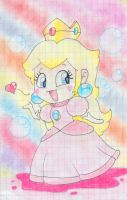 .:Chibi Peach:. by ThePinkMarioPrincess