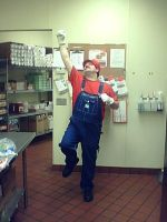 Halloween A and W 2011 Shift Manager Mario by Nemesisdestroyer