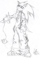 gothic Sonic by Sicah