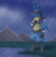 Deepest Lucario by Articuno