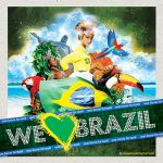 THEME WE LOVE BRAZIL by jotapehq