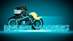 Derpy Hooves Tron Wallpaper by BlueDragonHans