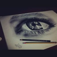 eye by Pencil-Tune-Art