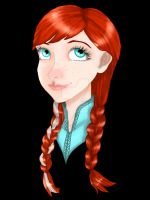 Anna  by ravenaudron