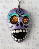 Day of the DEAD Necklace by ArteDeMiFamilia