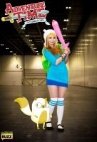 Bellajynx as Fionna from Adventure Time by evalunaofficial