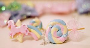 Shooting Pony-Star Ring and Lollipop Necklace by WhippedCreamCake