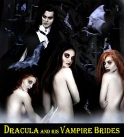 Dracula and His Vampire Brides by David-Zahir
