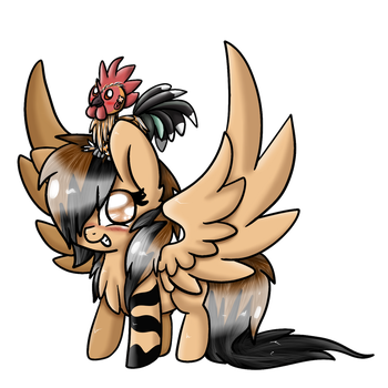 tiffany and tem (chibi) by Patty-Chickens
