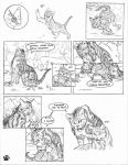 warriors fan comic page 1 by Alex-Harrier