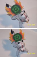 Okami Upper view papercraft by Draco3013