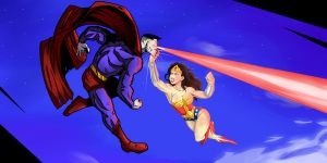 Bizzaro vs Wonder Woman by JLoc09