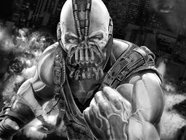 BANE FINAL PRINT by corysmithart