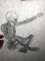 My 'creative and human figure drawing' homework by jzfriday