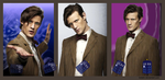 Doctor Who Trio by bolatin
