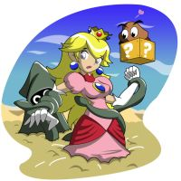 Peach Sinking by gamepal