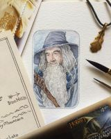 Gandalf the Grey by Earendiel