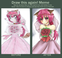 Before and After Meme by HaruBlossom