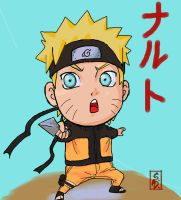Chibi naruto by sharingandevil