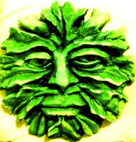 GreenMan coloured by carlcom66
