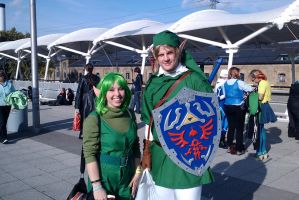 :MCM Oct 11: Link and Saria by TheLupineOne