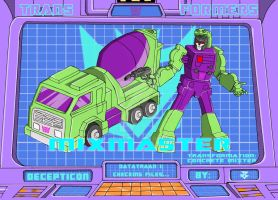 Transformers - Mixmaster by JP-V