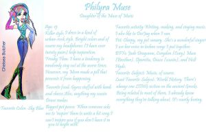 Philyra Muse-Daughter of the Muse of Music
