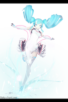 .:Racing Miku 2014:. by Baka-chanLove